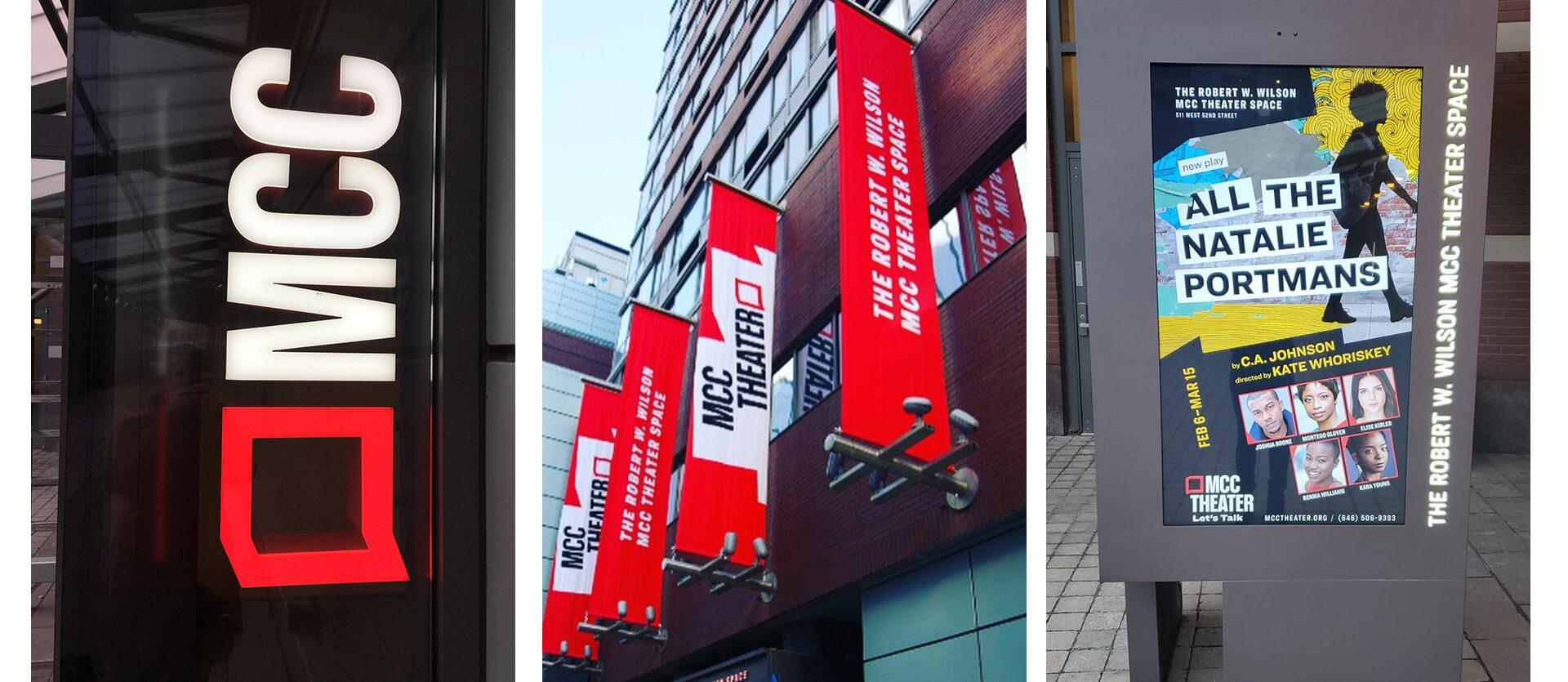 Exterior Signage.