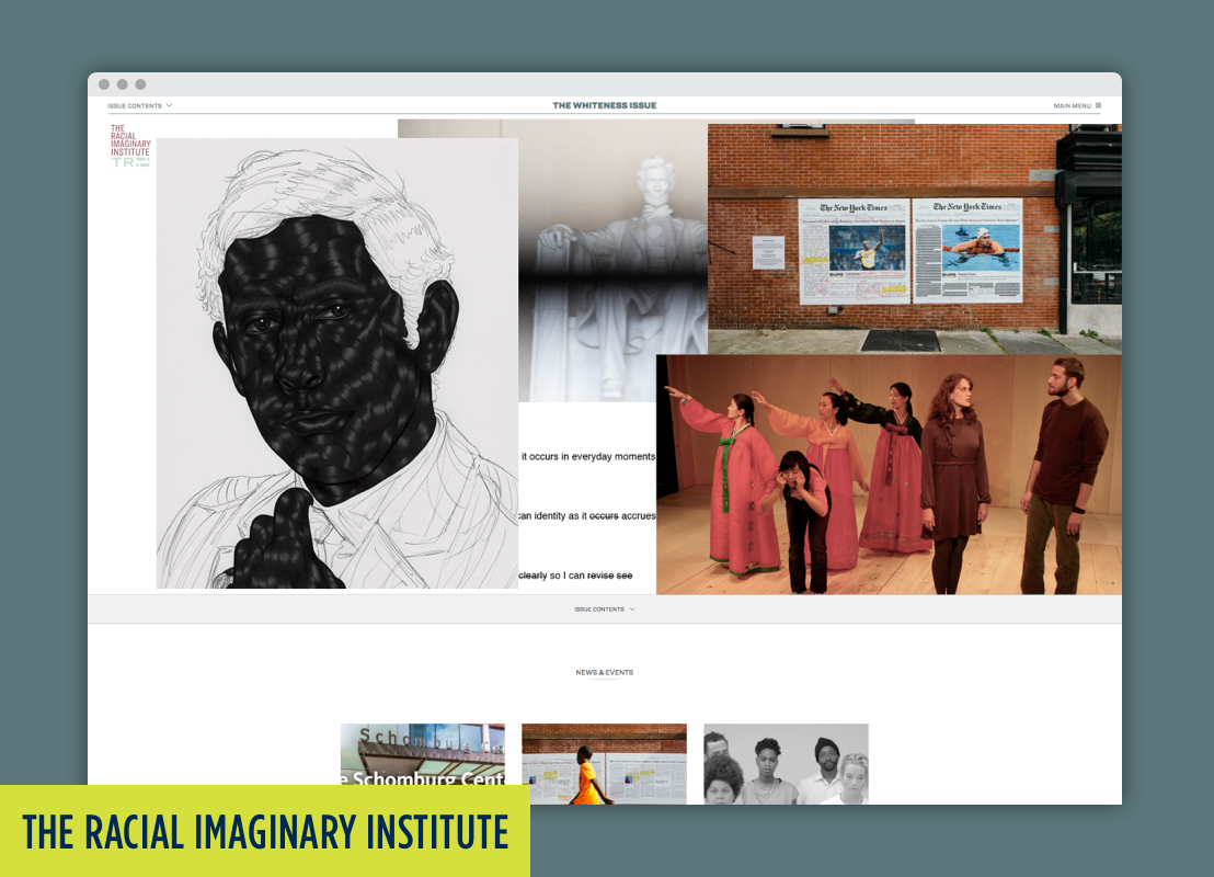 The Racial Imaginary Institute Website.